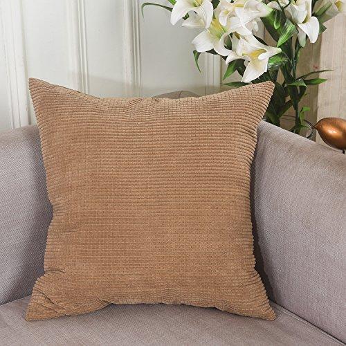 Brilliant Decorative Corduroy Striped Cushion