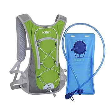 Amazon.com: Mochila de hidratación KBNI con bolsa de agua de ...