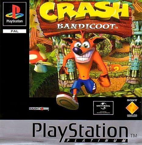 Crash Bandicoot game (PS1) [PlayStation]: Amazon.es: Videojuegos