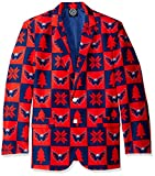 Forever Collectibles NHL Washington Capitals Mens Patches Ugly Business Jacket - Mens Size 44, 44 (Medium)