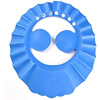 Auma Soft Adjustable Baby Shower Safe Protection Cap - Cute Leak Proof Children Shampoo Bath Bathing Wash Hair Shield…