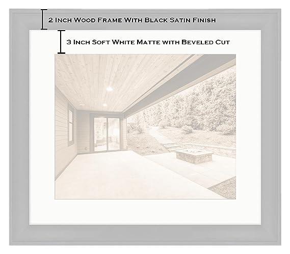 Amazon.com: Ashley Framed Prints Luxurious New Construction Home ...
