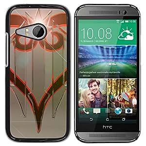 All Phone Most Case / Oferta Especial Duro Teléfono Inteligente PC Cáscara Funda Cubierta de proteccion Caso / Hard Case HTC ONE MINI 2 / M8 MINI // Tribal Design