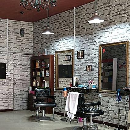 Huangyahui Modern Minimalist Brick Hair Salon 3d Solid