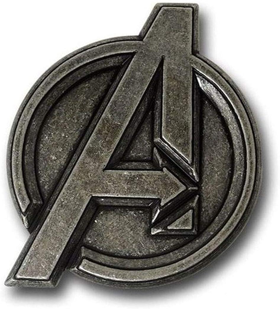 Marvel Comics AVENGERS Logo Metal BELT BUCKLE