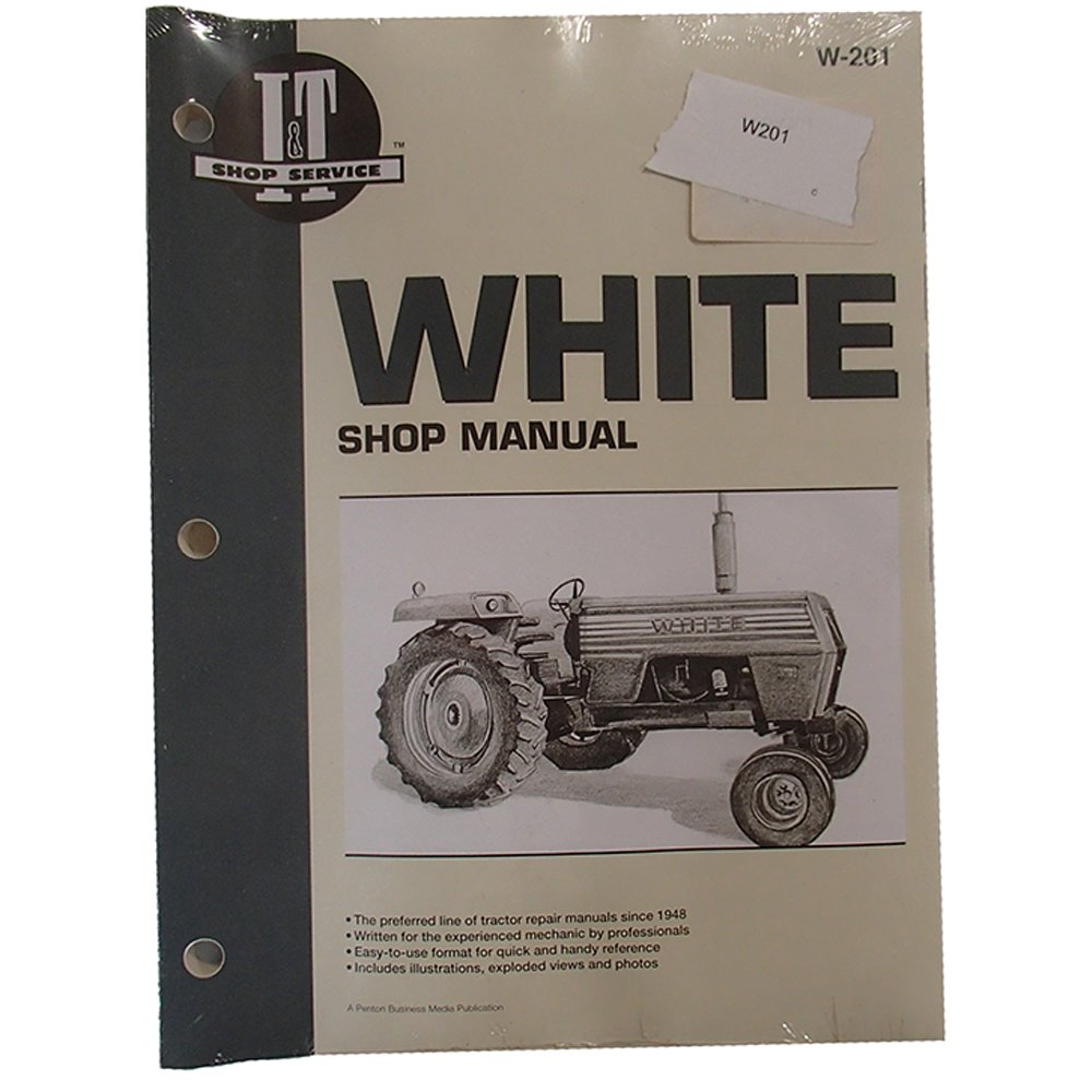 Amazon.com: Shop Manual Collection I&T W-201 for White 2-105 2-135 2-85:  Industrial & Scientific