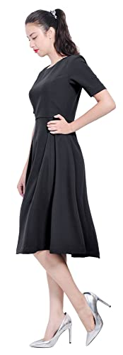 Mary Crafts Womens Classy Celeb Office Business Kate Duchess Dresses