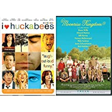 Comedy Double Feature Moonrise Kingdom + I Heart Huckabees DVD Set Films 2 pack bundle