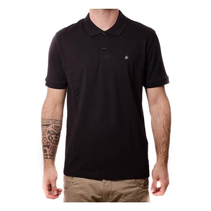 JACK & JONES Jorperfect Polo SS, Hombre, Negro (Black) Small ...