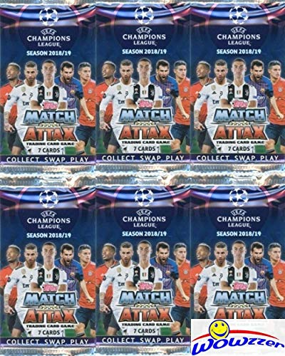 Amazon.com: 2018/2019 Topps Match Attax Champions League ...