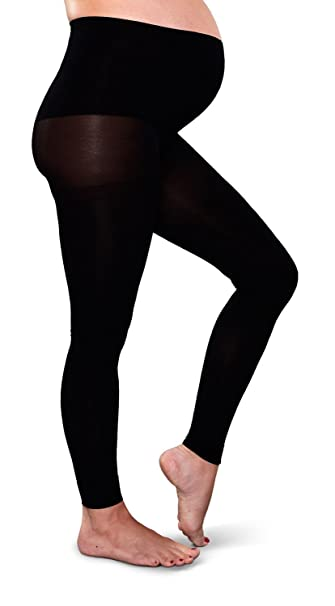 7f863e44056e0 Image Unavailable. Image not available for. Color: Preggers Footless Maternity  Tights ...