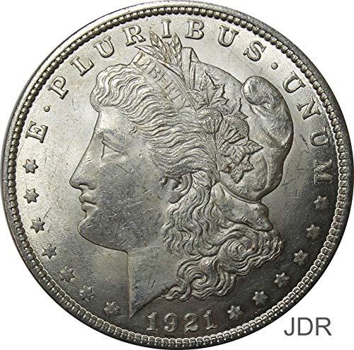 1921 P Morgan Silver Dollar $1 Brilliant Uncirculated