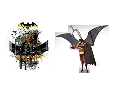 Decorazione per Torte Batman 2 pezzi Torte Centrino di compleanno