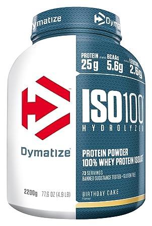 Dymatize Whey Protein Hydrolysat Isolat Premium Eiweisspulver Shake 22