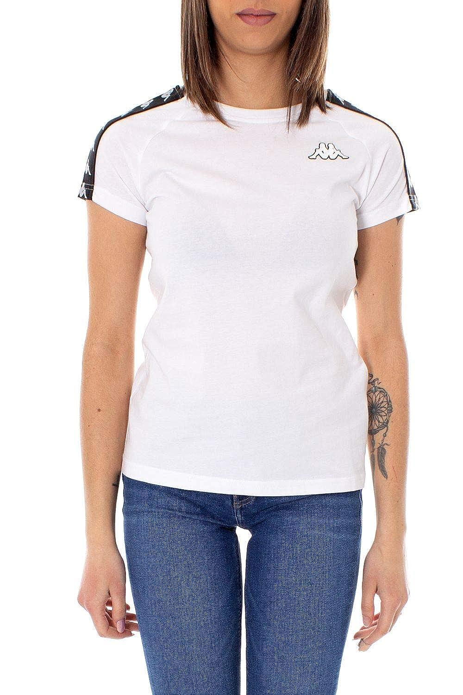 Kappa Womens 303H1U0913 White Cotton T-Shirt
