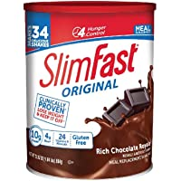 Deals on SlimFast Original Rich Chocolate Royale Shake Mix 31.18oz