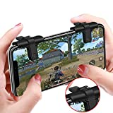 Leegoal Mobile Game Controller for PUBG, [NEW VERSION] Sensitive Shoot Fire and Aim Buttons for PUBG/Knives Out/Rules of Survival, Survival Game Controller for 4.5-6.5inch Android IOS Phone, 1 Pair Review