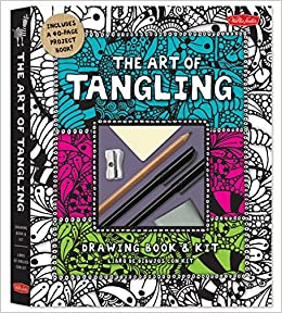 The Art Of Tangling Drawing Book Kit Inspiring Drawings Designs