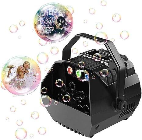 JOLLY Máquina de la burbuja con el LED enciende automática ...