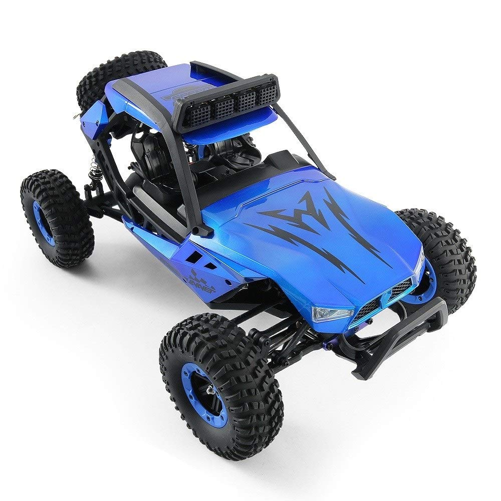 TBFEI 1/12 All Fields Drift RC Racing Car RTR Toy Christmas Birthday Dream Gift for Children and Adults-38.52318cm 4WD 45Km/k High Speed RC Violent Off-Road Racing (Color : Blue) by TBFEI (Image #2)