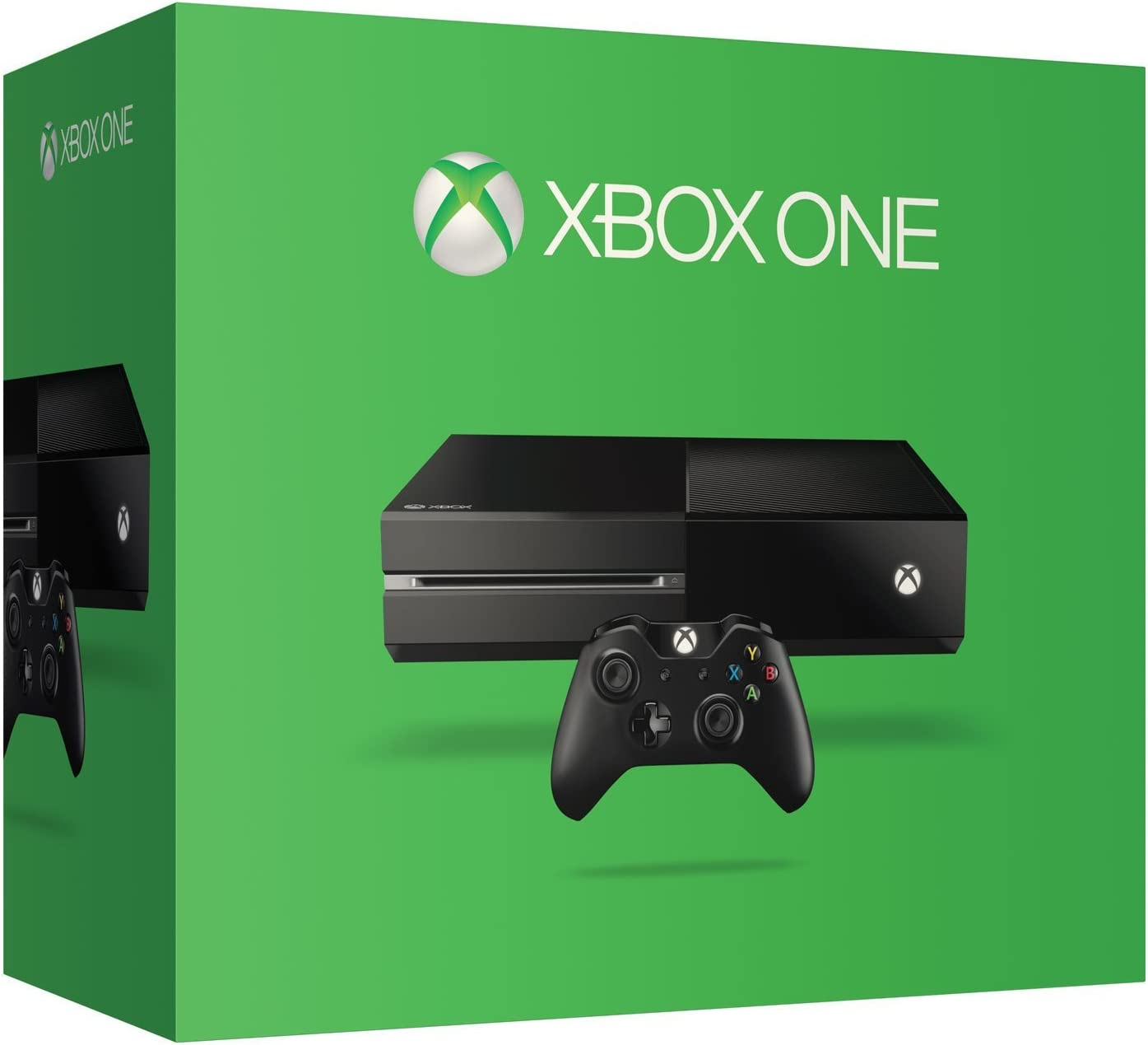 09ee3b7fc Amazon.com: Xbox One 500 GB Console - Black [Discontinued]: Video Games