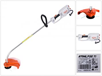 Stihl - Fse 71 desbrozadoras 540 w potente del condensador ...