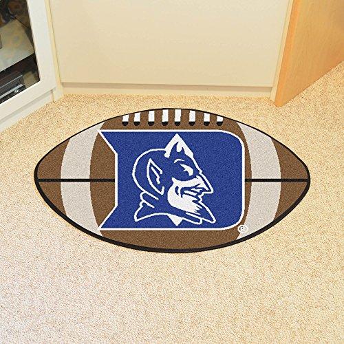 - FANMATS NCAA Duke University Blue Devils Nylon Face Football Rug