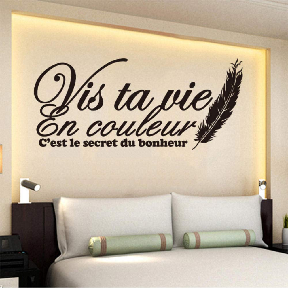 Amazon Com Wall Stickers Murals Wall Stickers French Citation