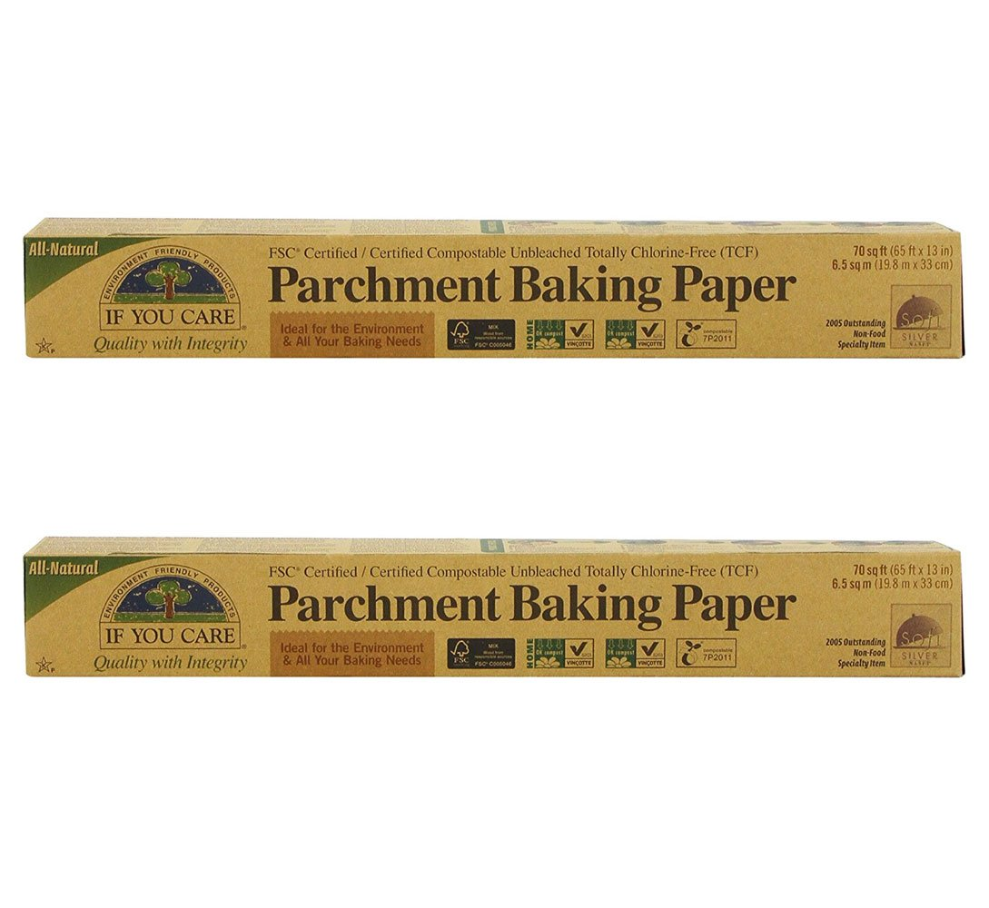 If You Care FSC Certified Parchment Baking Paper, 70 sq ft (Pack of 2) by If You Care