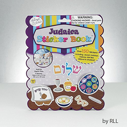 Sticker Book Judaica Theme