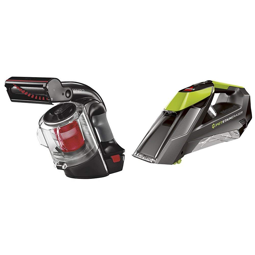 BISSELL Multi Auto Lightweight Lithium Ion Cordless Car Hand Vacuum Red 19851