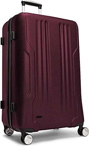 eBags Monument 28 Checked Spinner Merlot