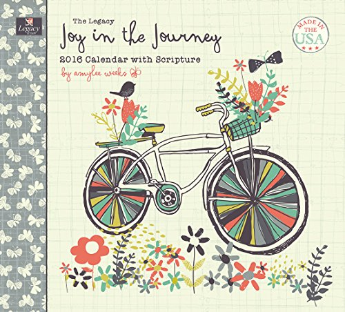 Legacy Publishing Group 2016 Wall Calendar, Joy in the Journey (WCA18765)