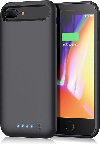 Amazon.com: Funda de batería para iPhone 6S Plus/6 Plus/7 ...
