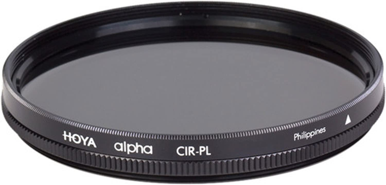 Hoya 82mm Alpha Circular Polarizer Filter,black