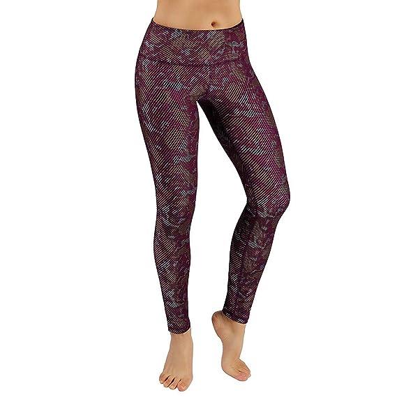 1b4d13061a6 Rosatro Women Yoga Pant,Women Needle Six Line Digital Print Yoga Gym ...