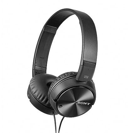 a077eb08bda Sony MDR-ZX110NC On-Ear Noise Cancellation Headphones: Amazon.in ...