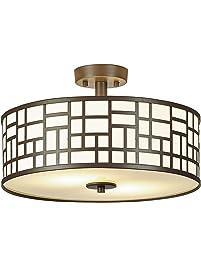 Close To Ceiling Light Fixtures Amazon Com Lighting