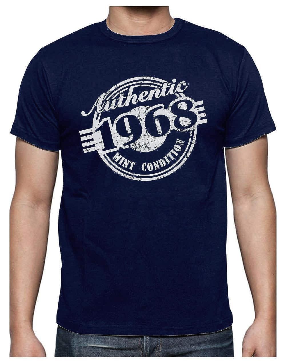 Green Turtle T-Shirts Camiseta para Hombre - Regalo Original de Cumpleaños para Celebrar los 50 Años de Edad