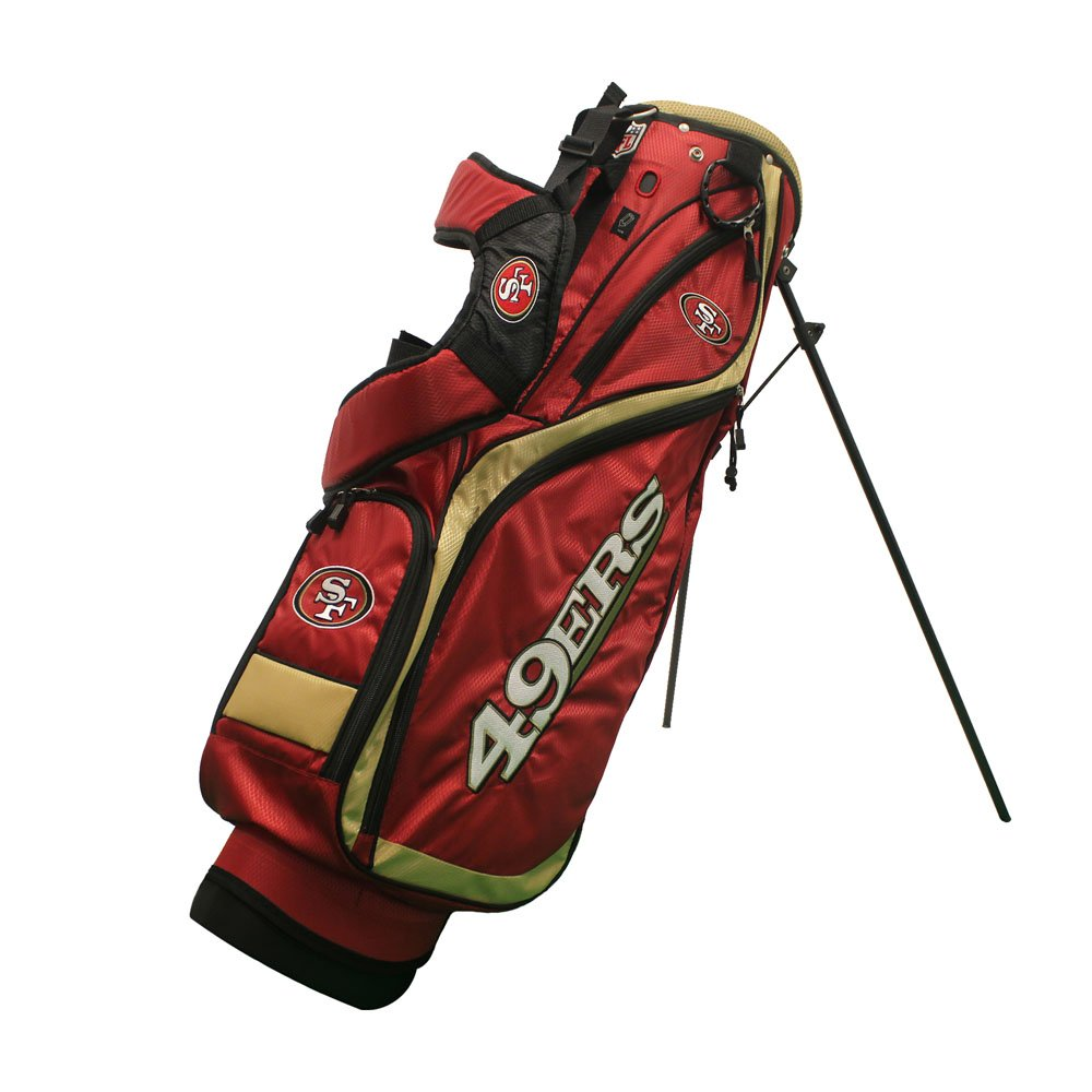 Team Golf 32727 San Francisco 49Ers NFL Nassau Stand Bag
