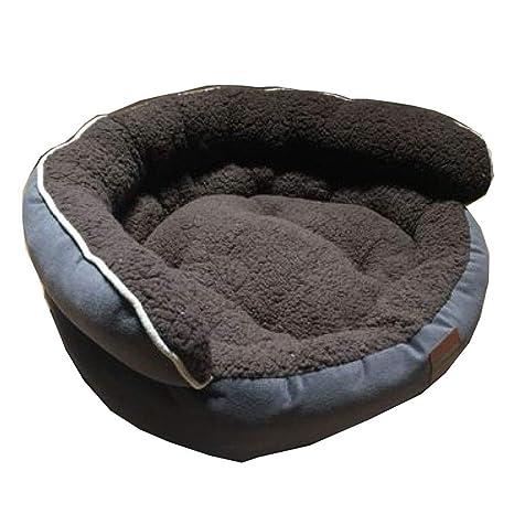 ANHPI-Pets Kennel caseta para Perros cálido Gruesa Impermeable Repuesto de Alta Espalda otoño E
