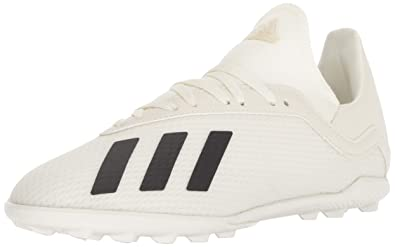 c5e85872b478d1 adidas Unisex X Tango 18.3 Turf Soccer Shoe Off White Black Gold Metallic 1
