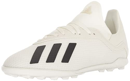 adidas Unisex X Tango 18.3 Turf Soccer Shoe, Off White/Black/Gold Metallic