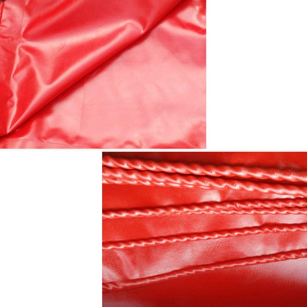 ZHULIAN Telo Impermeabile Impermeabile Impermeabile Rosso, Tenda Esterna Spessa, Parasole in Tela Camion parapolvere Antipolvere Super Impermeabile - Telone Esterno (Coloree   A, Taglia   2x2M) | Materiali Selezionati Con Cura  | Numerosi In Varietà  b1ccec