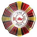 Iron Stop Designer Fire Department Wind Spinner