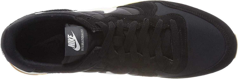Nike Women\'s Internationalist Sneakers AQ9121-001 Black/White 61dhOZOBATLUL1500_