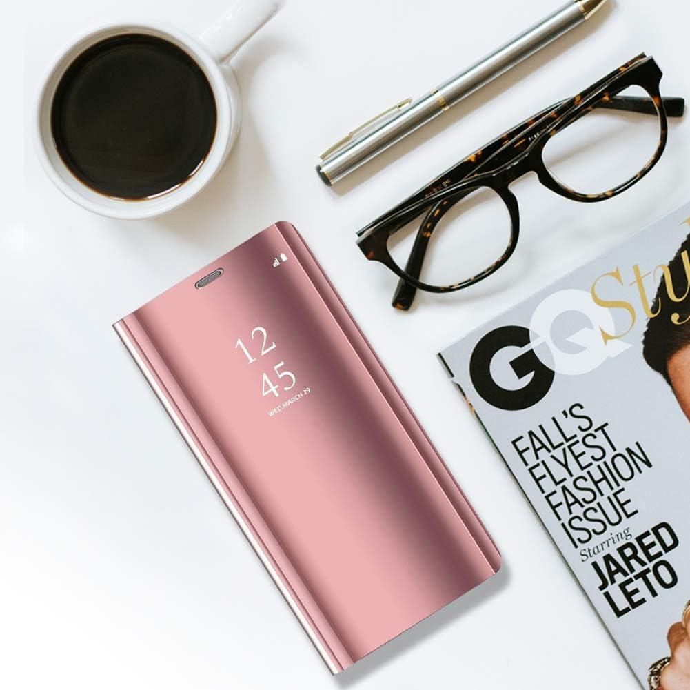 Elegante H/ülle kompatibel mit Samsung Galaxy S10 Plus,reflektierende Schutzh/ülle PU-Leder Flip Handy Case mit Standfunktion case f/ür Samsung Galaxy S10 Plus