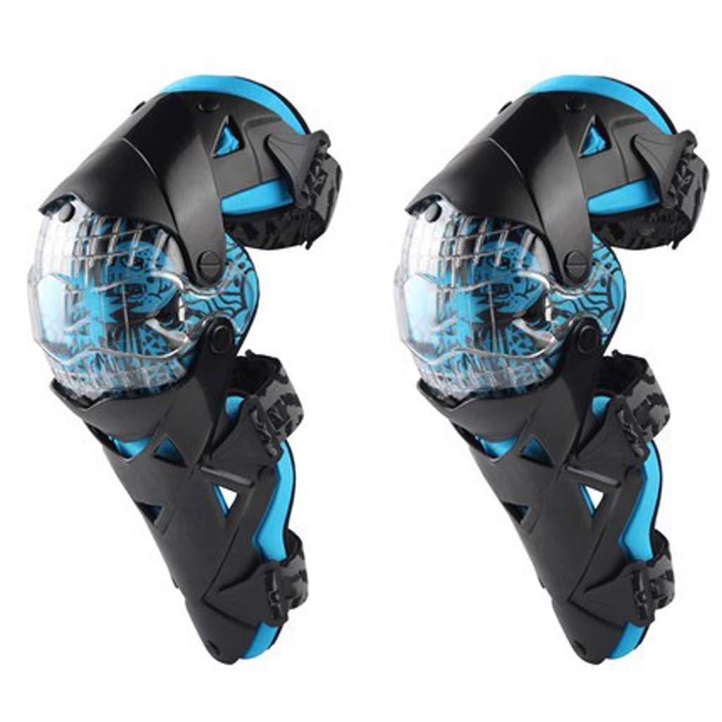 最安値に挑戦! HUA BEI HUA 膝パッド Kneepad - ファッションオートバイ膝パッドモトクロス膝PCブレースハイエンド保護ギア膝パッドプロテクター - 青 @@ (色 : 青) 青 B07PSCS5QS, 小野上村:a7297319 --- advertdigitalmantra.com