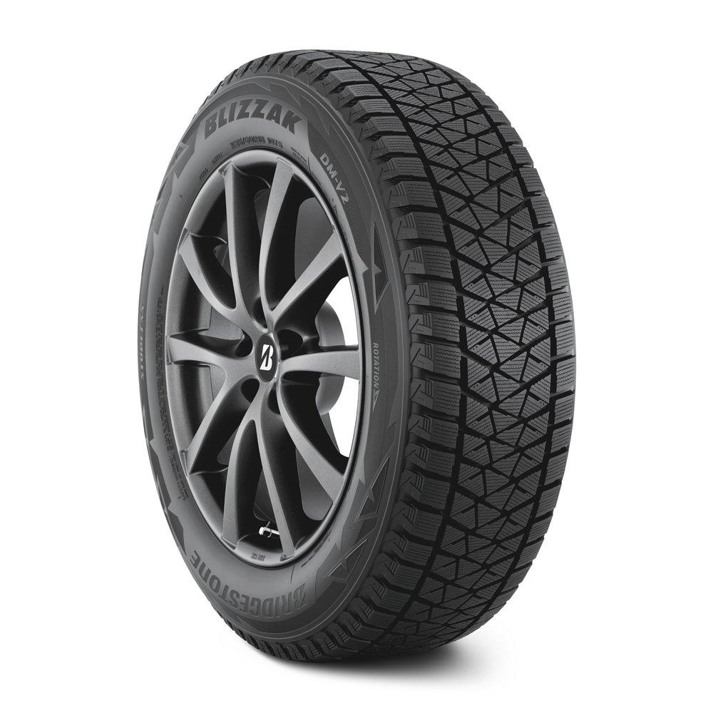 [USブリヂストン 直輸入正規品] 255/50R20 Bridgestone Blizzak ブリザック DM-V2 スタッドレスタイヤ1本 製造国:日本 B07644W41J