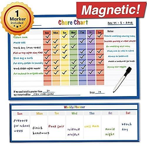 calendar chore chart